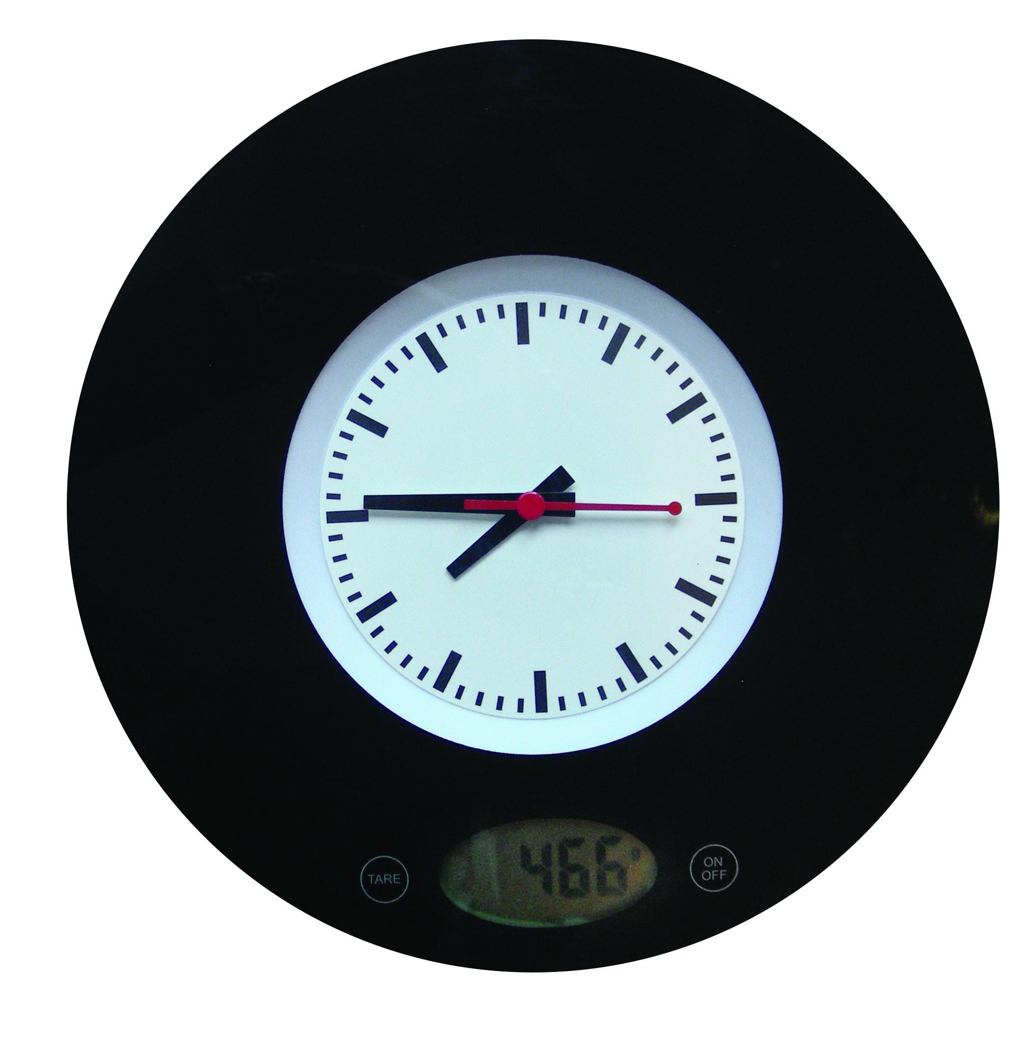 Cdo promocionales b scula digital de cocina reloj de pared for Reloj de cocina original